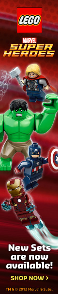 NEW Marvel LEGO Super Heroes sets are now available!