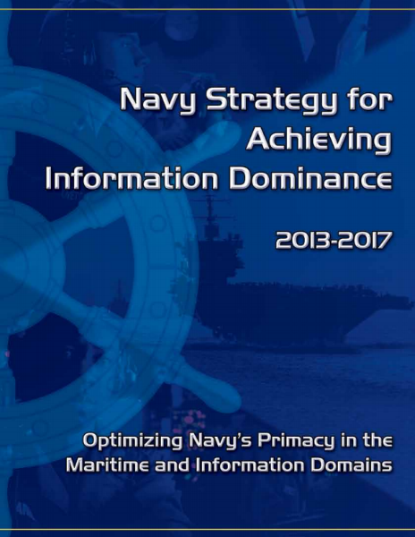navy-strategy-for-achieving-information-dominance