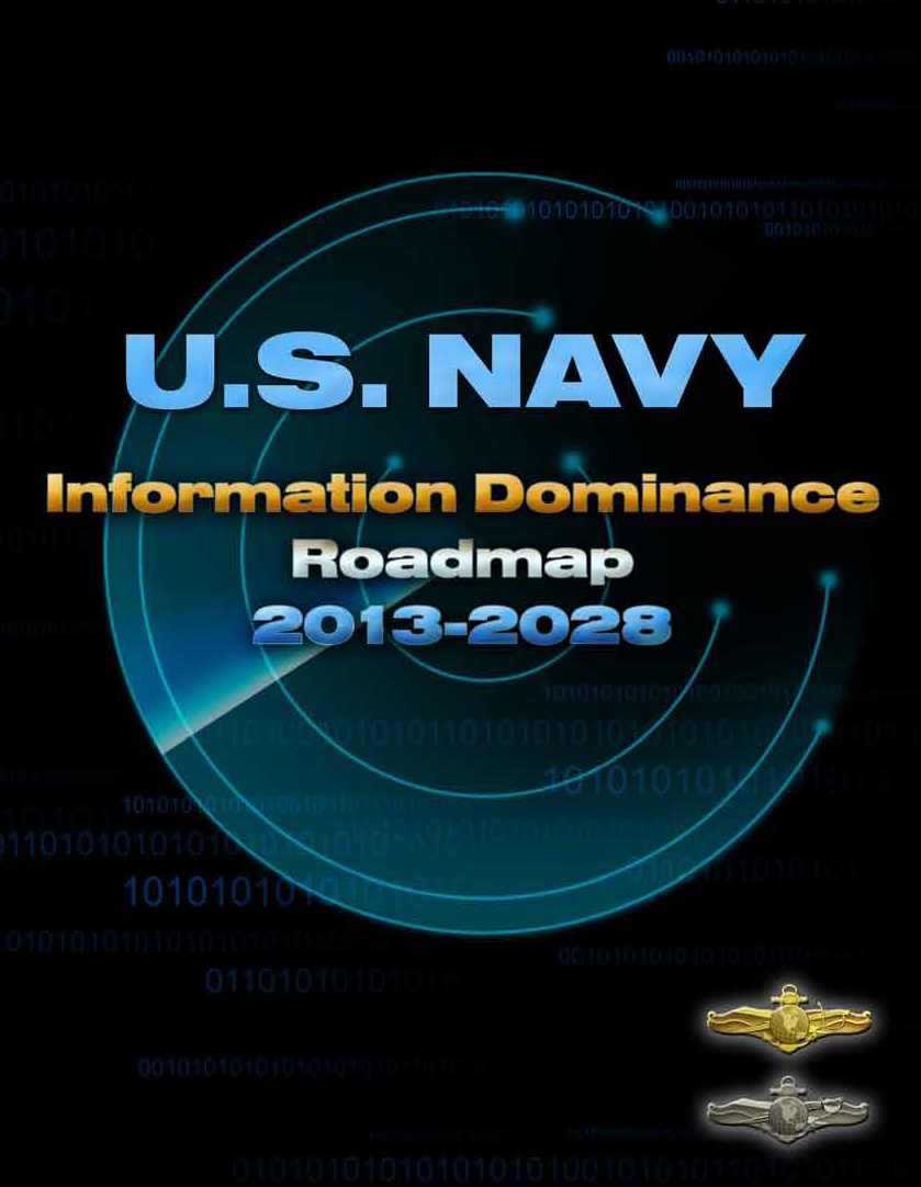 US Navy Information Dominance Roadmap 2013-2028