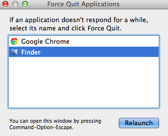 Force Quit Menu for Mac