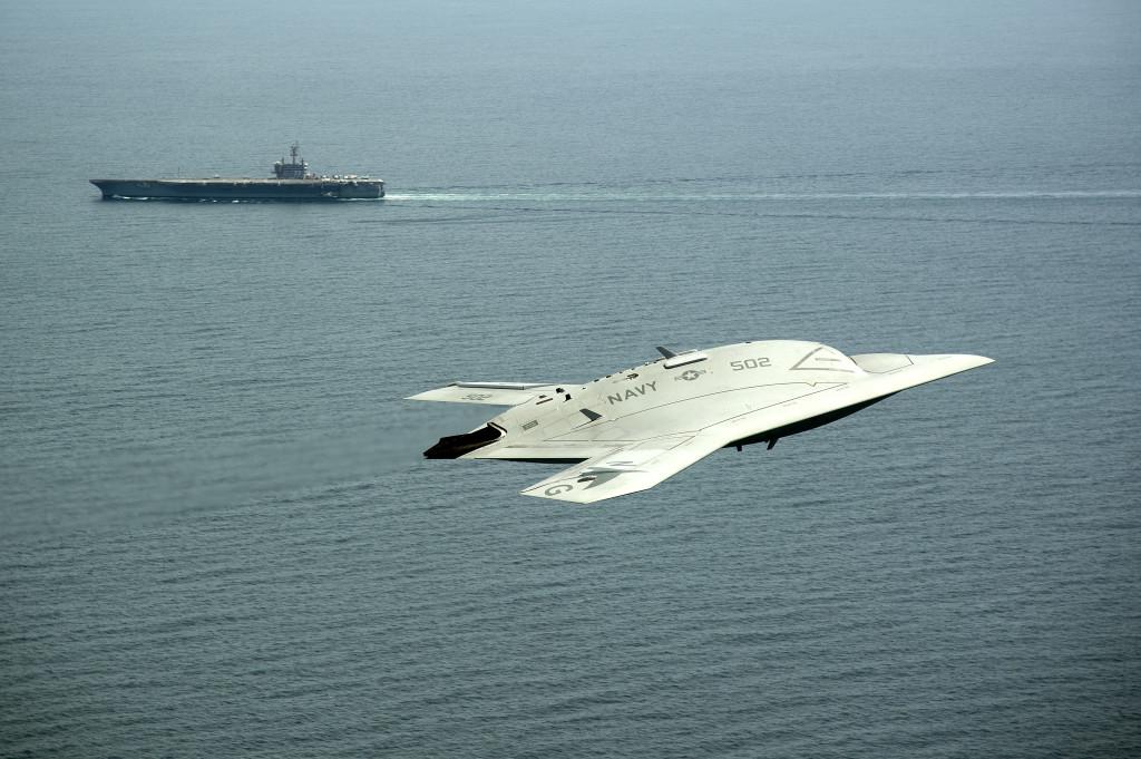 X-47 UCAS UAV Drone