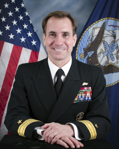 Bio Photograph of Rear Admiral John Kirby