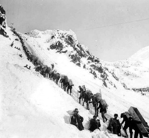 Journey to the Klondike through Chilkoot Pass