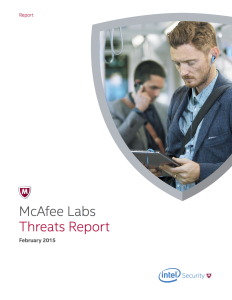 McAfee Threat Report February 2015